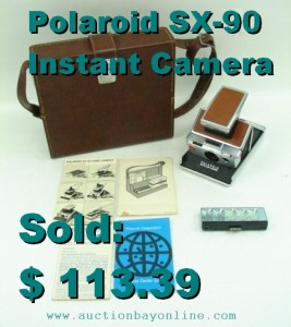 This classic camera by Polaroid is a winner!